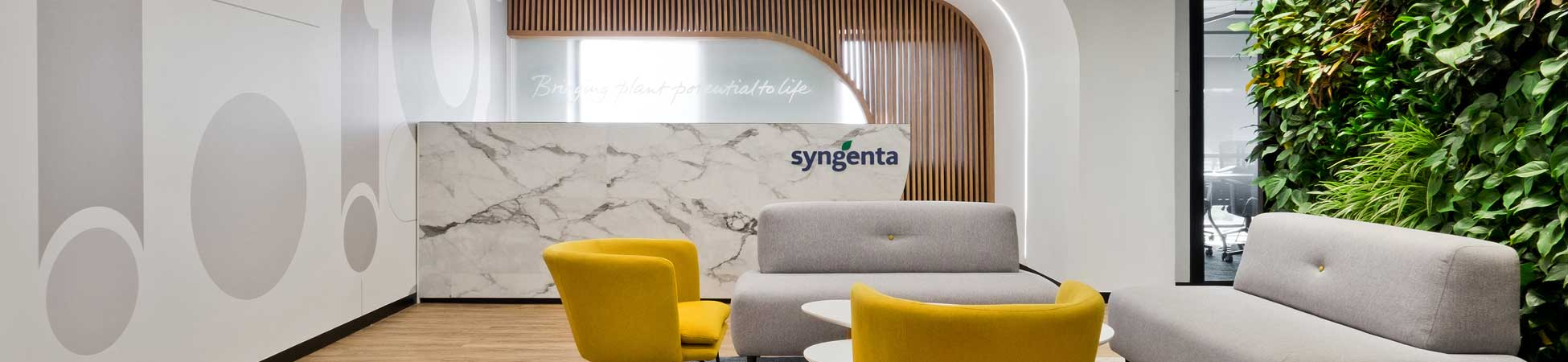 Interior Office Design and Fit-Out - SYNGENTA